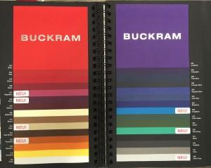 Farbfächer für Schmuckverpackung bunt von HvC