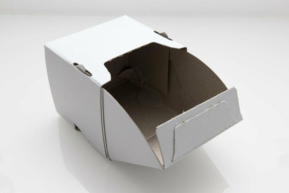 Schraubenverpackung mit Schütte 85x85x75mm