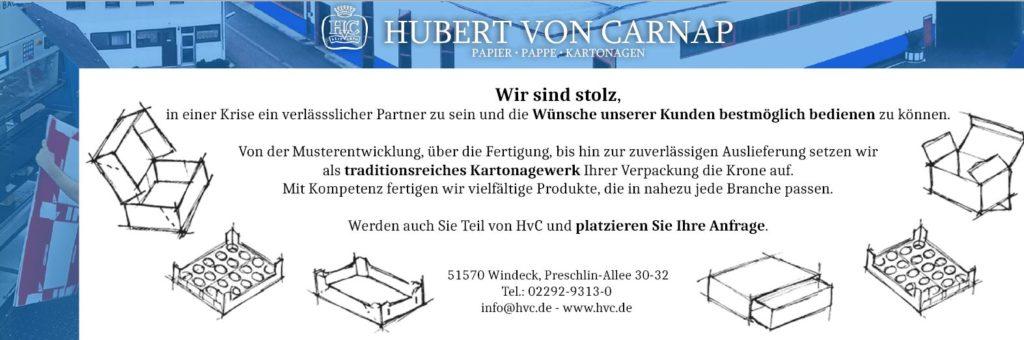 HvC Anzeige EUWID