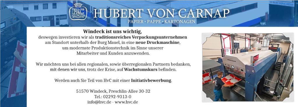 HvC Anzeige Lokalanzeiger